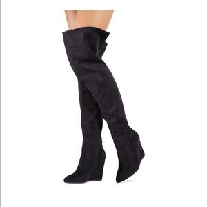 Over The Knee FELICIA Boots (JustFab)